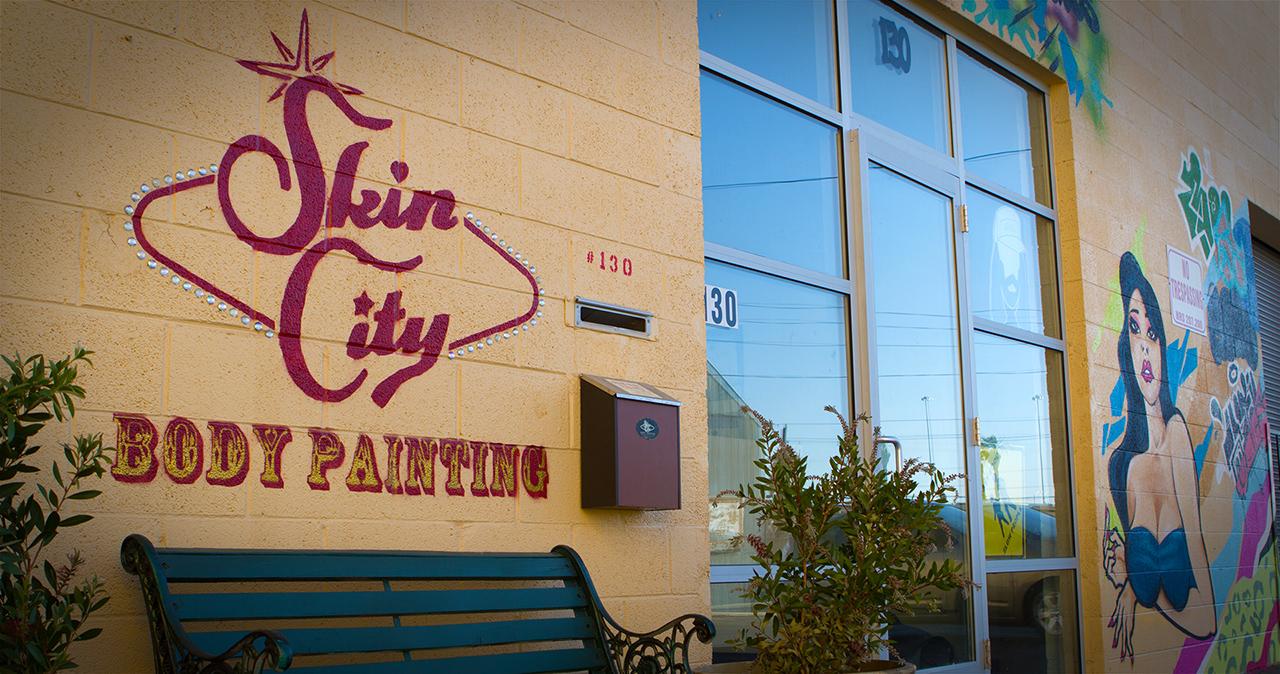 Skin City Body Painting