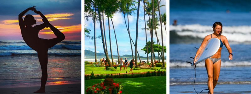 Yoga, Pilates, Surfing, and Sunshine!