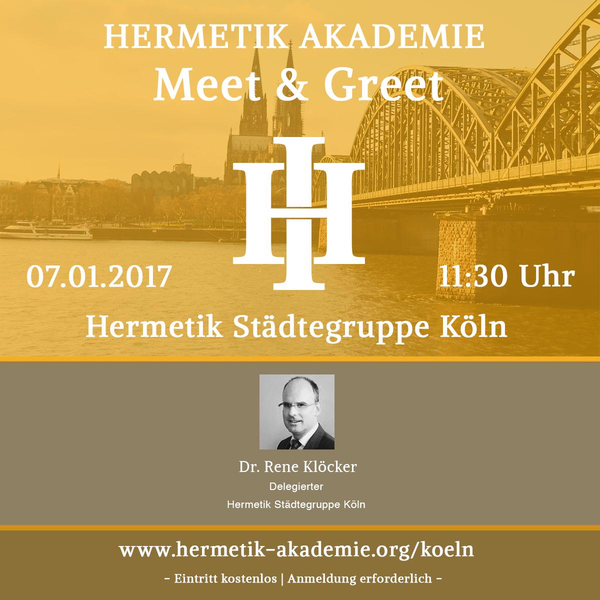 Hermetik Meet & Greet Köln