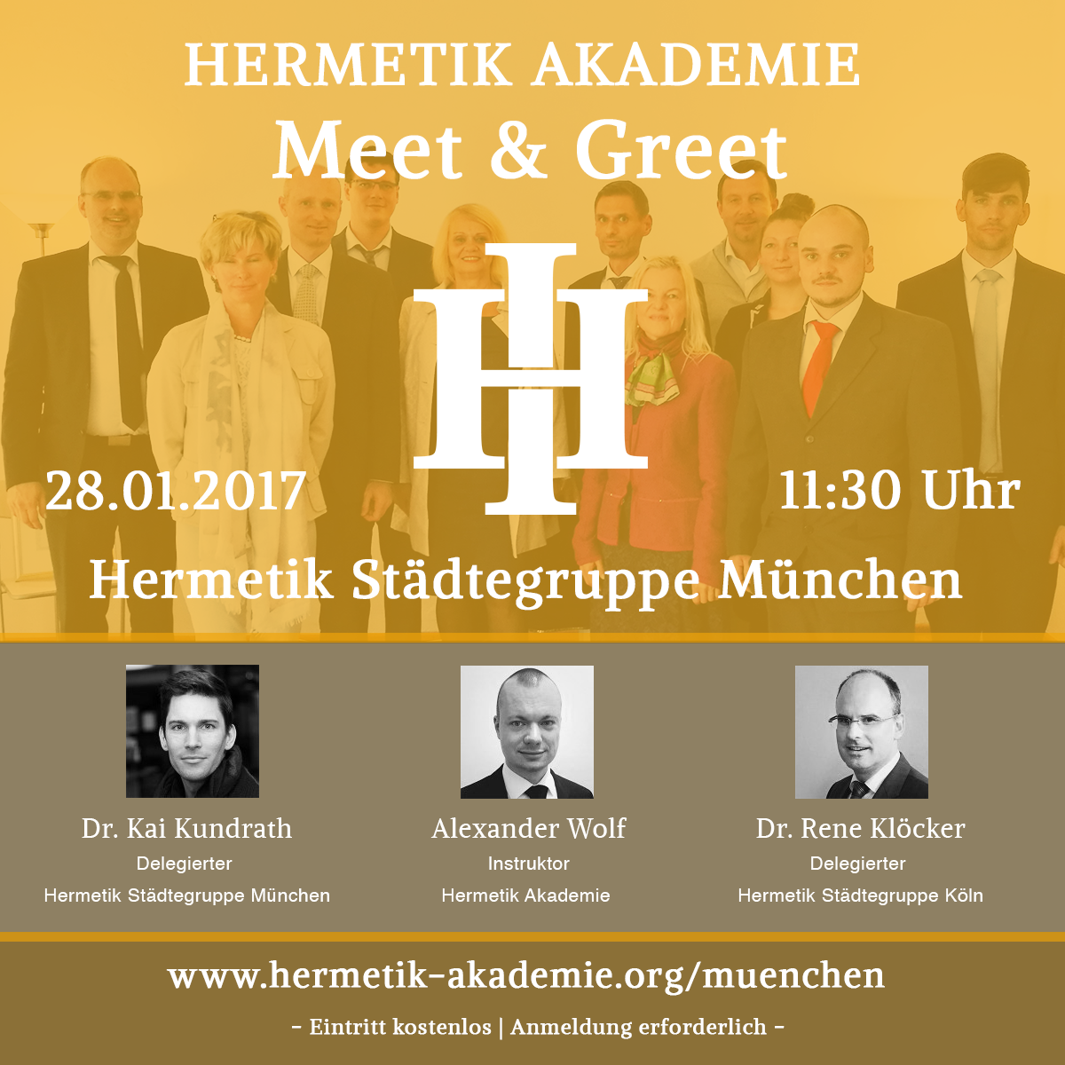 Hermetik Meet & Greet München