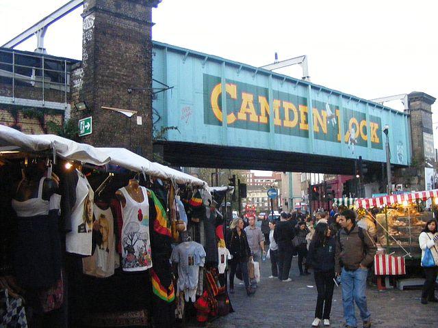 Camden Lock Market (c) Wikimedia