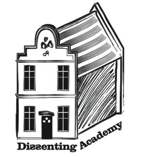 logo for dissenting academy