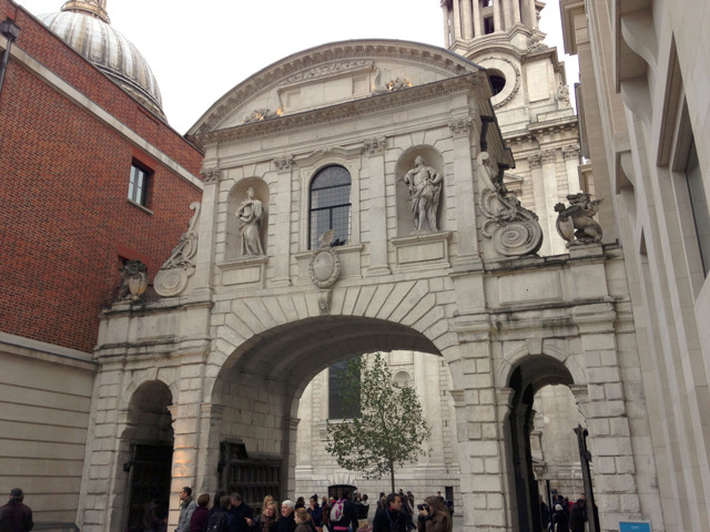 Temple Bar at St Pauls