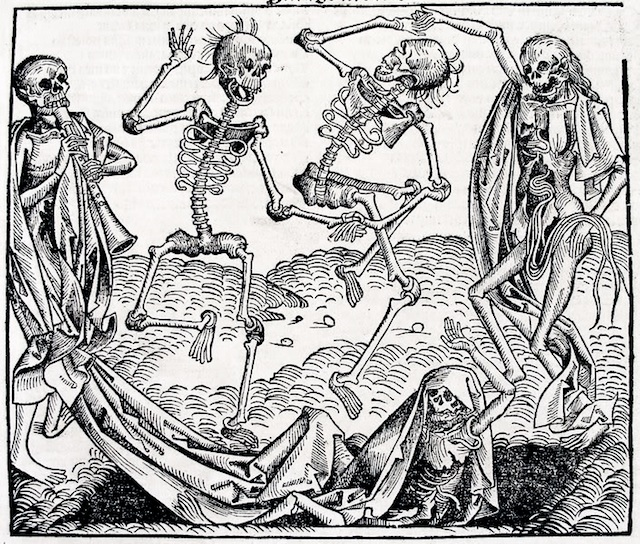 image of holbeins Danse Macabre