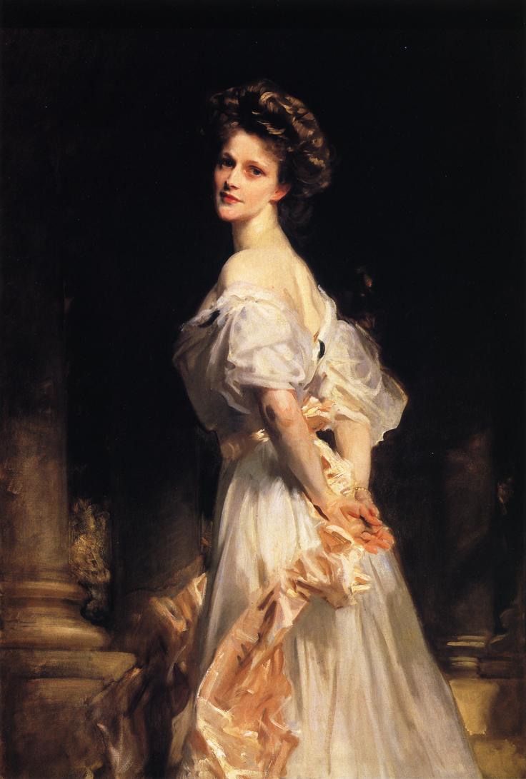 Nancy Viscountess Astor by John Singer Sargent