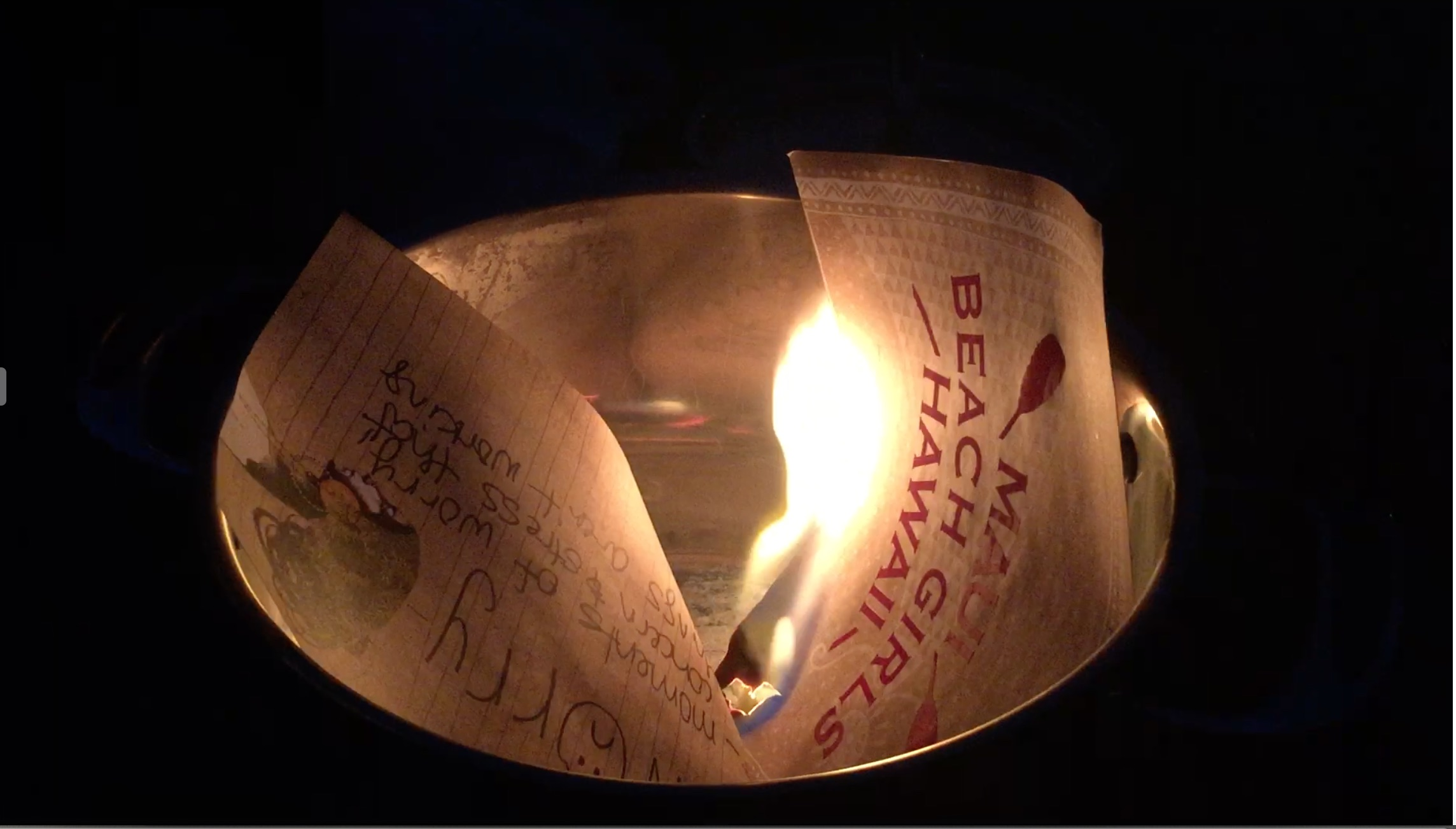 Burning Bowl Ritual
