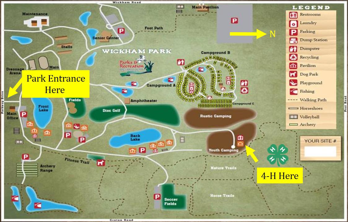 Wickham Park BBQ and Camping Area