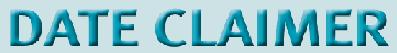 DateClaimer