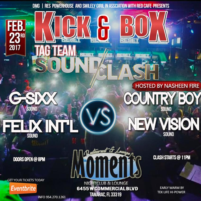 kick and box