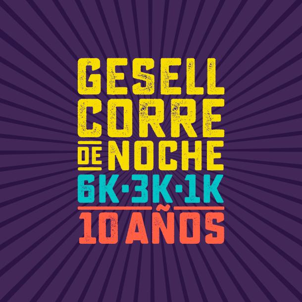 Gesell Corre de Noche | 10 AÑOS