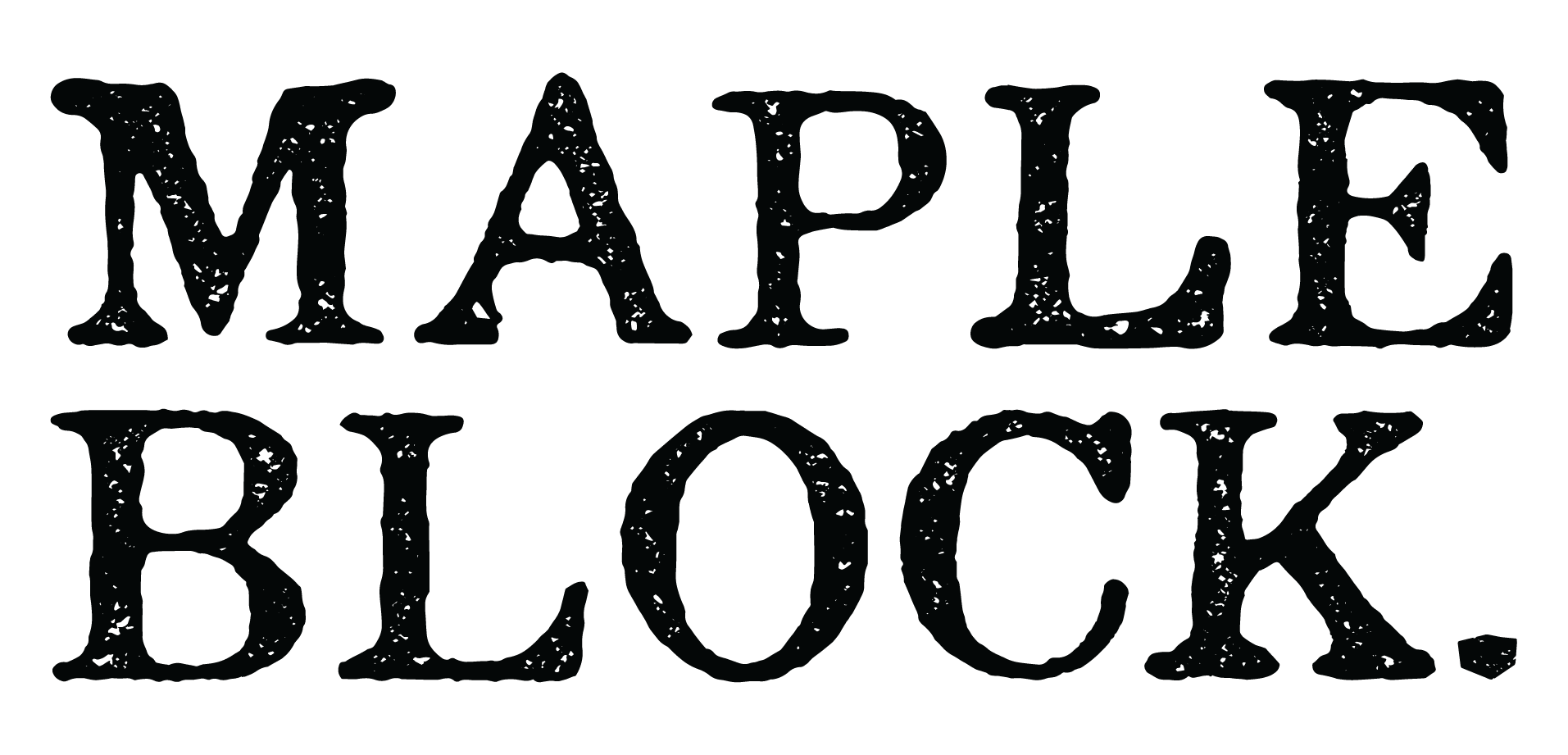 Maple Block Logo