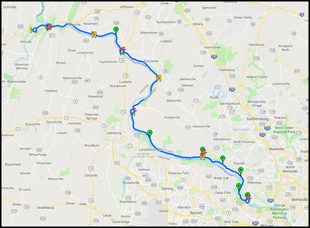 Kennedy50 Map 2019