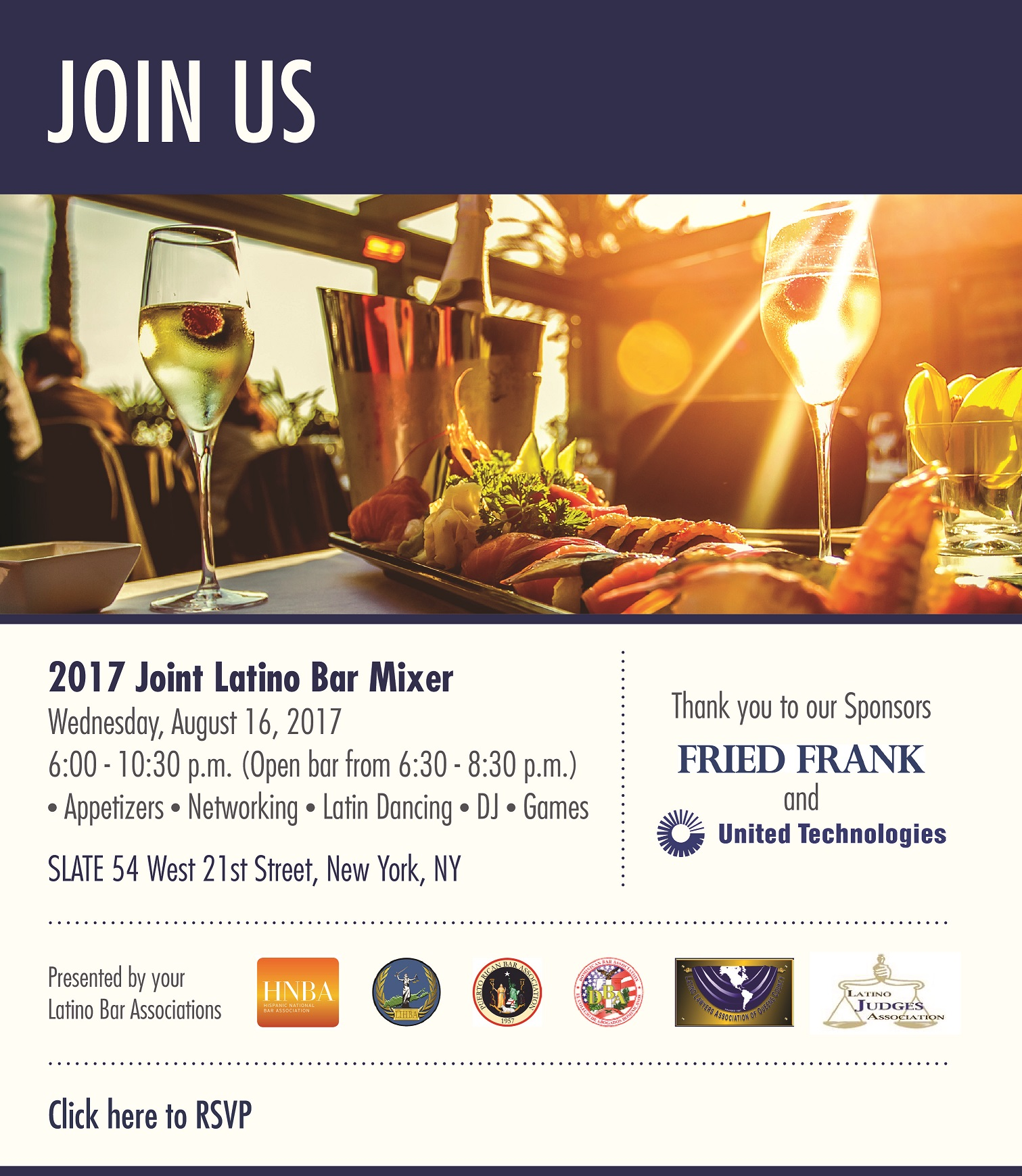 2017 Joint Latino Bar Association Mixer Tickets, Wed, Aug 16, 2017 ...