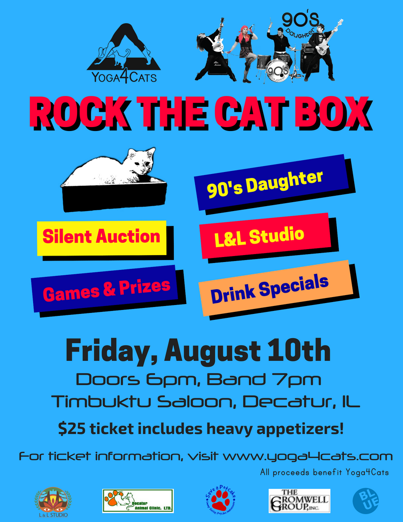 Rock the Cat Box flyer