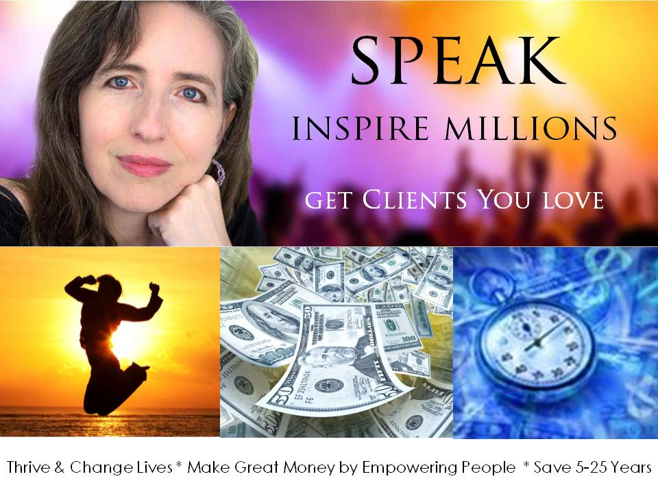 Thrive & Change Lives * Make Great Money by Empowering People  * Save 5-25 Years