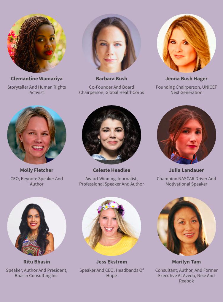 leadercast women speakers