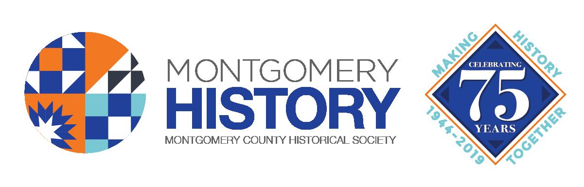 Montgomery History 75th Anniversary Logo