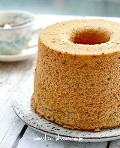 Thai Milk Tea Chiffon Cake Recipe