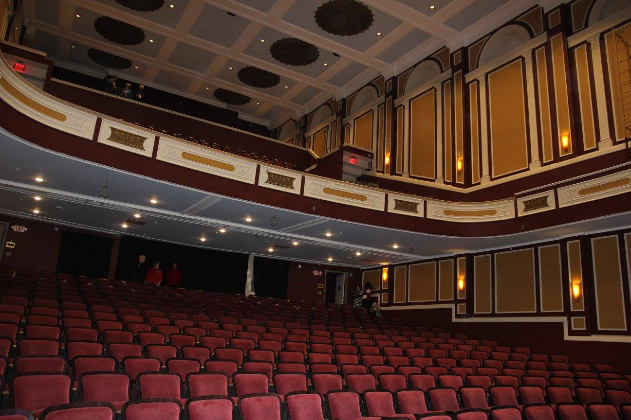 Interior view of the Flagstar Strand Theatre