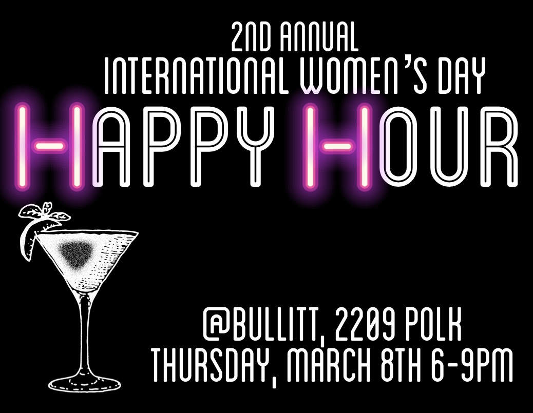 Women's Day Happy Hour