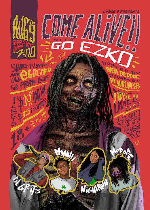 Gimme 5 Presents... Come Alive!! w/ Go Ezko