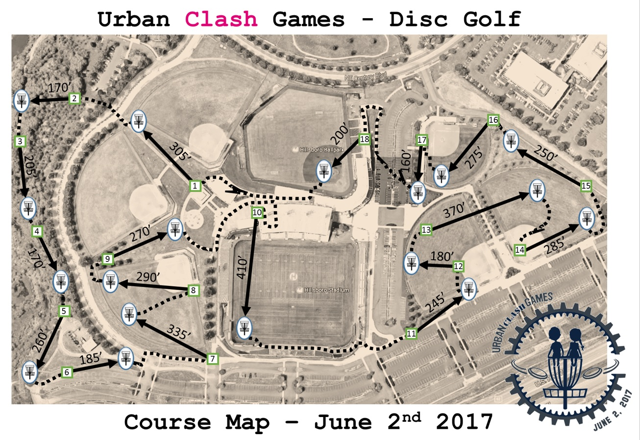 2017 Course Map