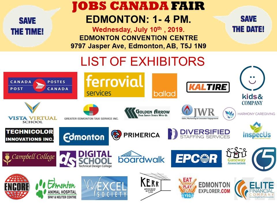 Edmonton Job Fair - September 16th, 2019 Tickets, Multiple