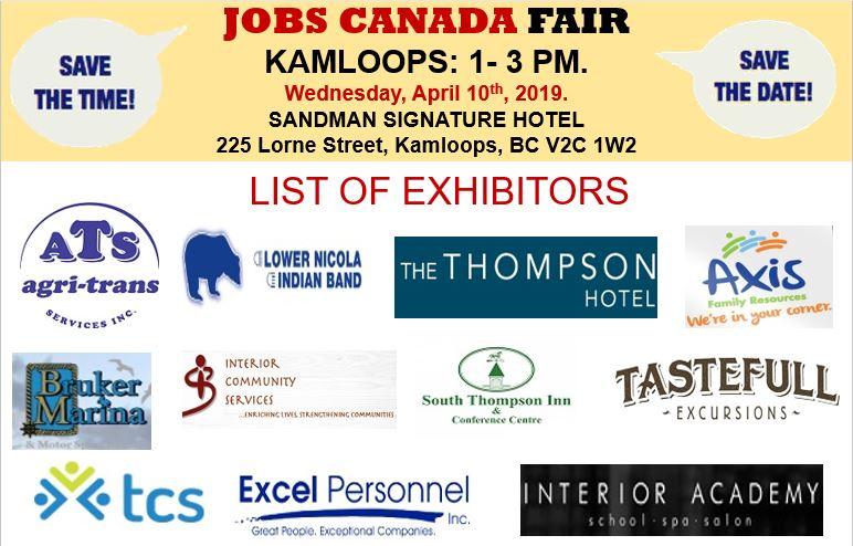 Free Kamloops Job Fair April 10th 2019 Rose Recruitment