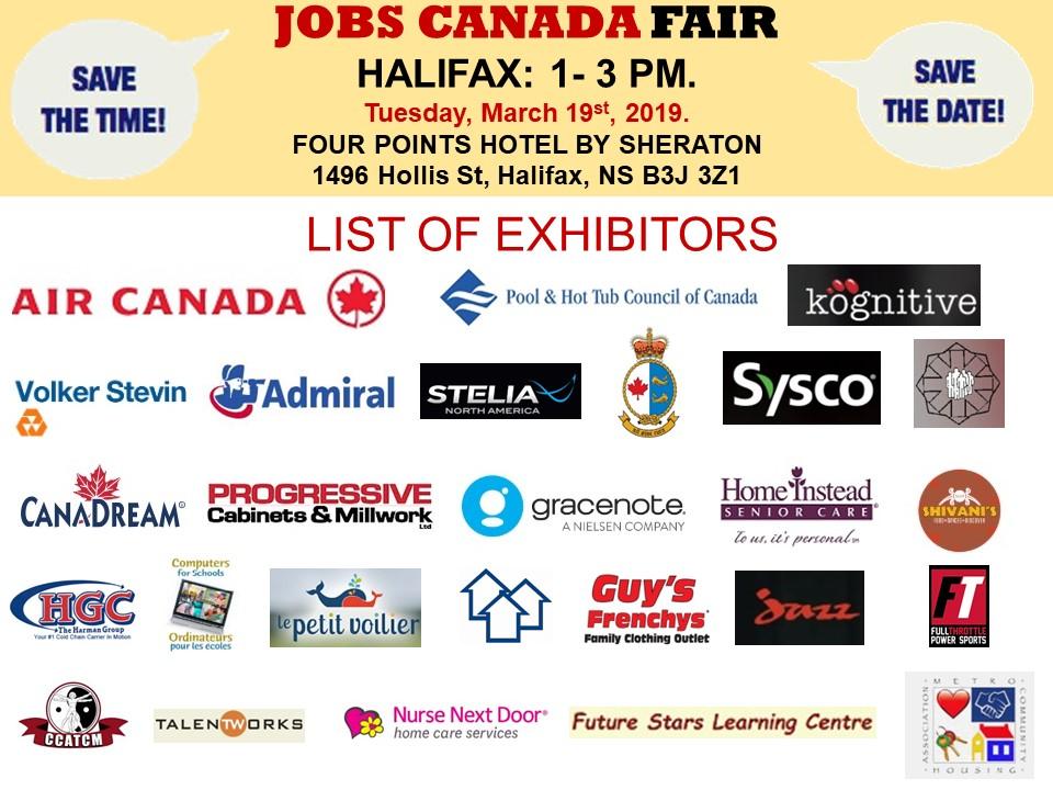 free  halifax job fair  u2013 may 27th  2019 tickets  multiple