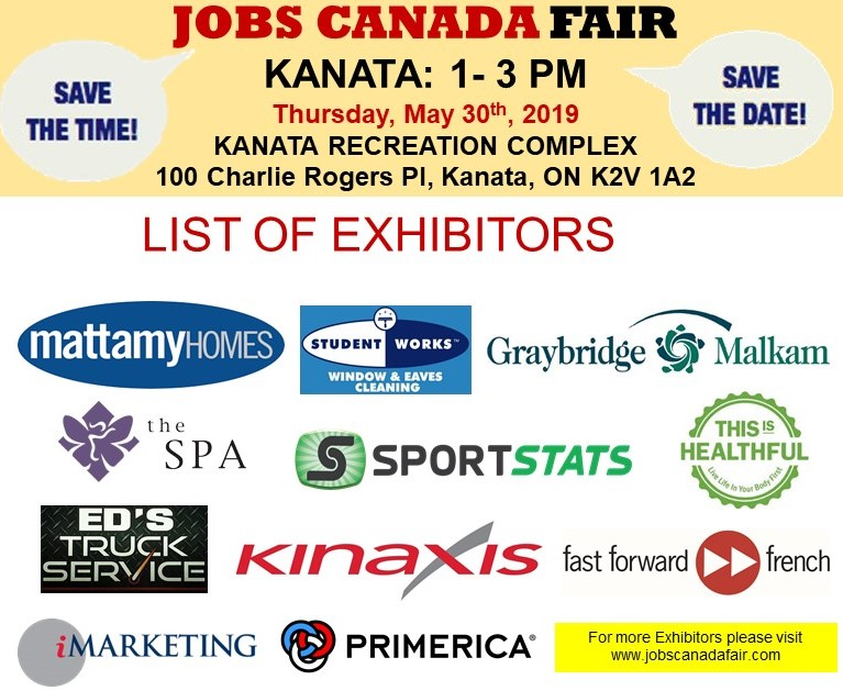 KANATA JOB FAIR – September 23rd, 2019 Tickets, Multiple