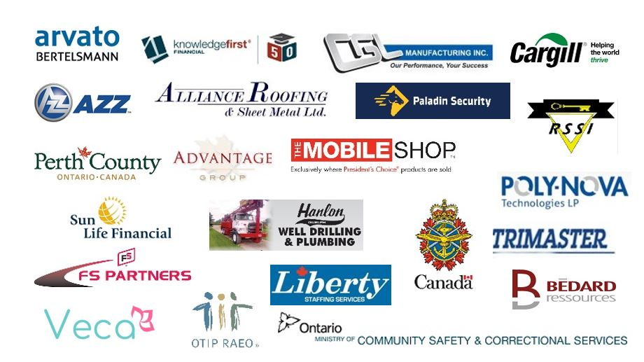 List of Exhibitors for Guelph Job Fair