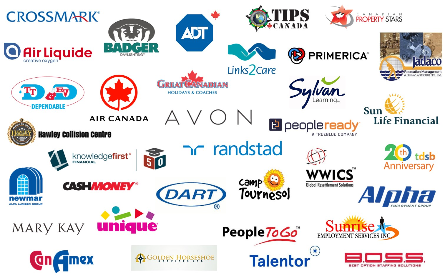 Mississauga List of Exhibitors