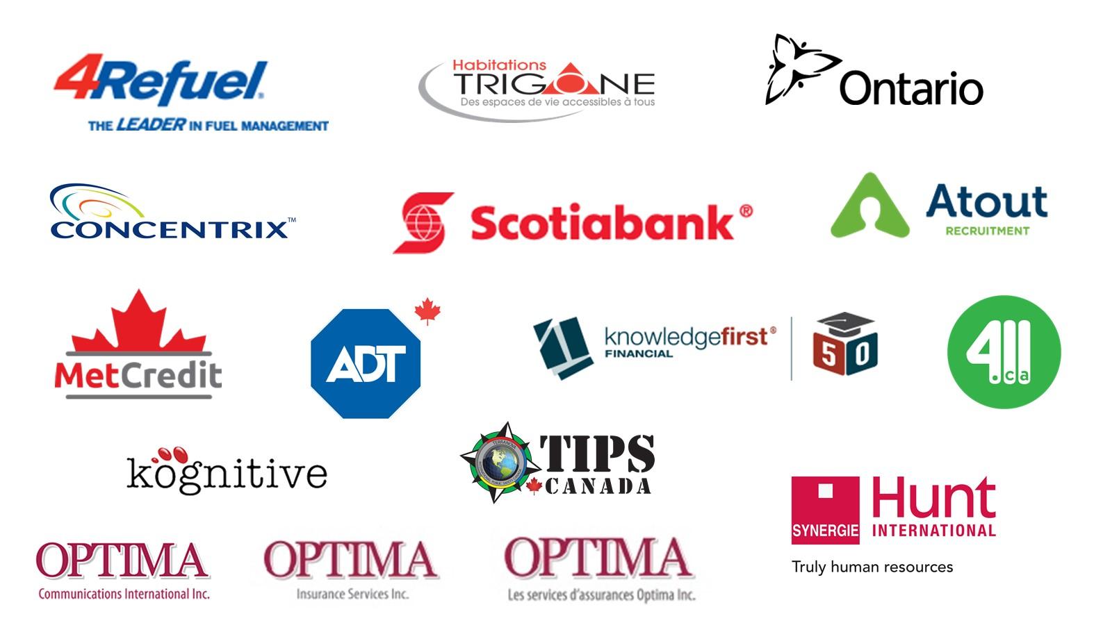 Montreal List of Exhibitors