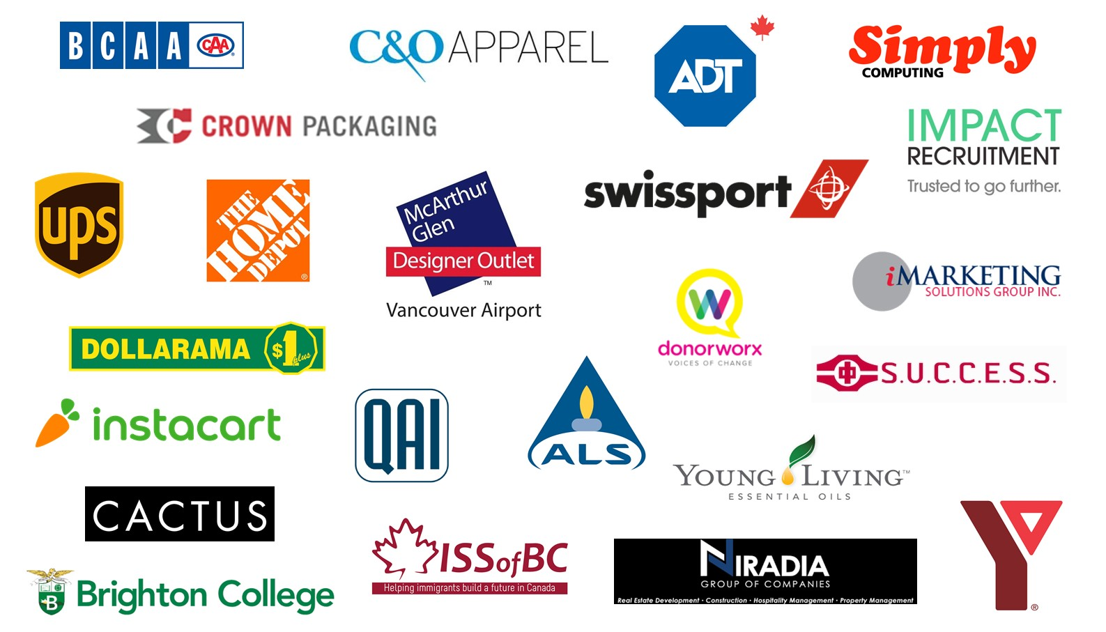 Vancouver List of Exhibitors