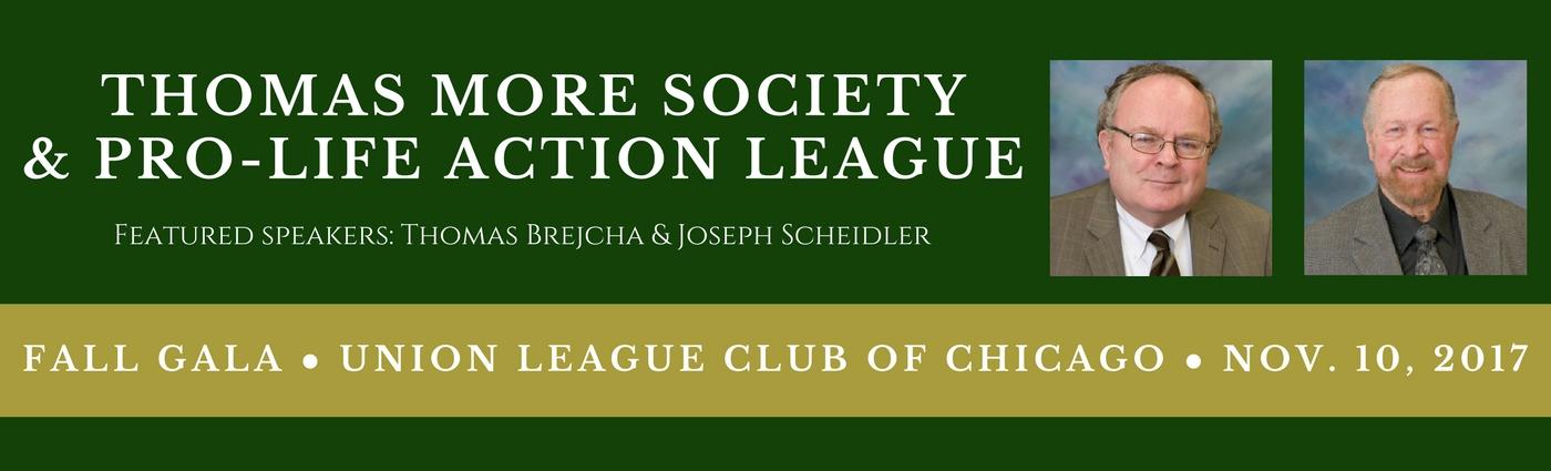 2017 Thomas More Society Gala