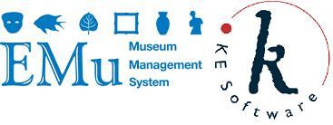 KE Software and EMu logos