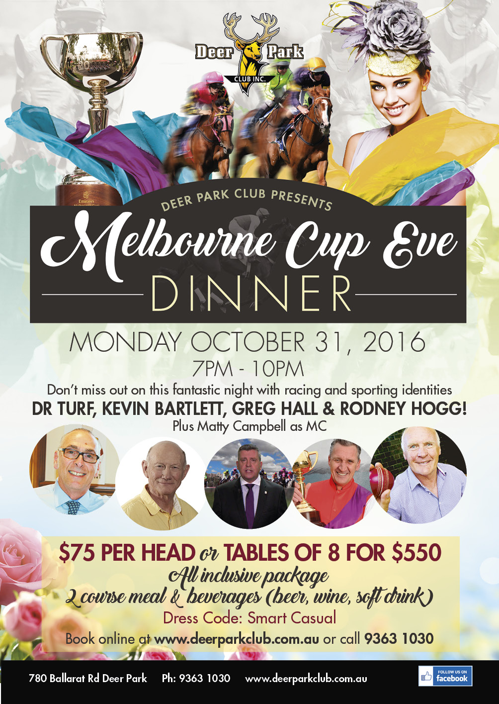 Melbourne Cup Eve Event