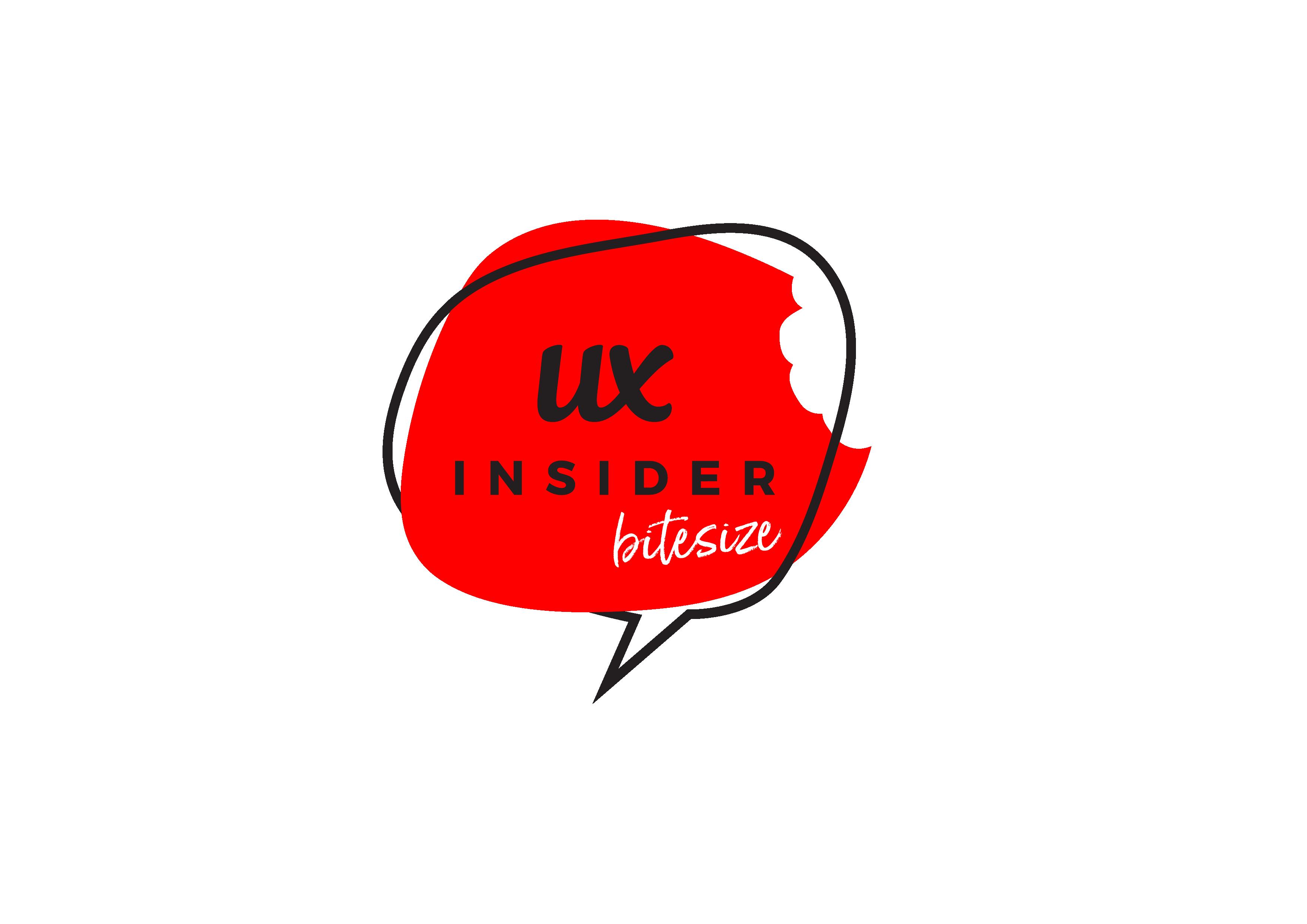 ux insider bitesize