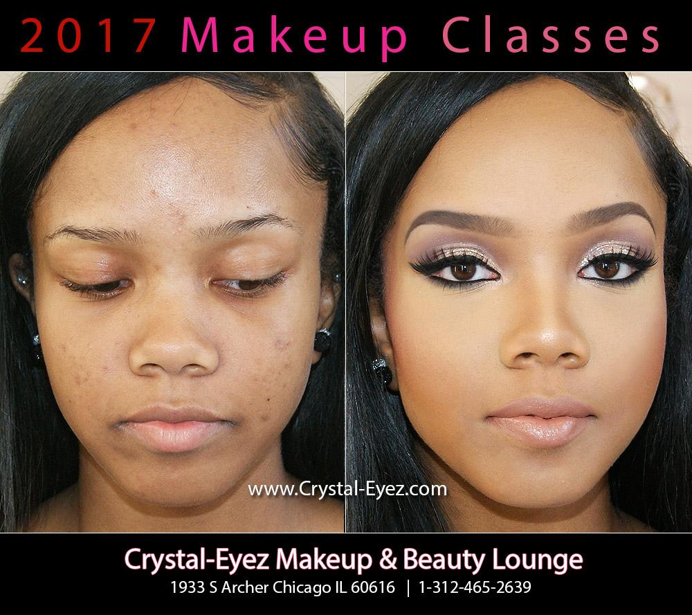 Crystal-Eyez Makeup Class Chicago