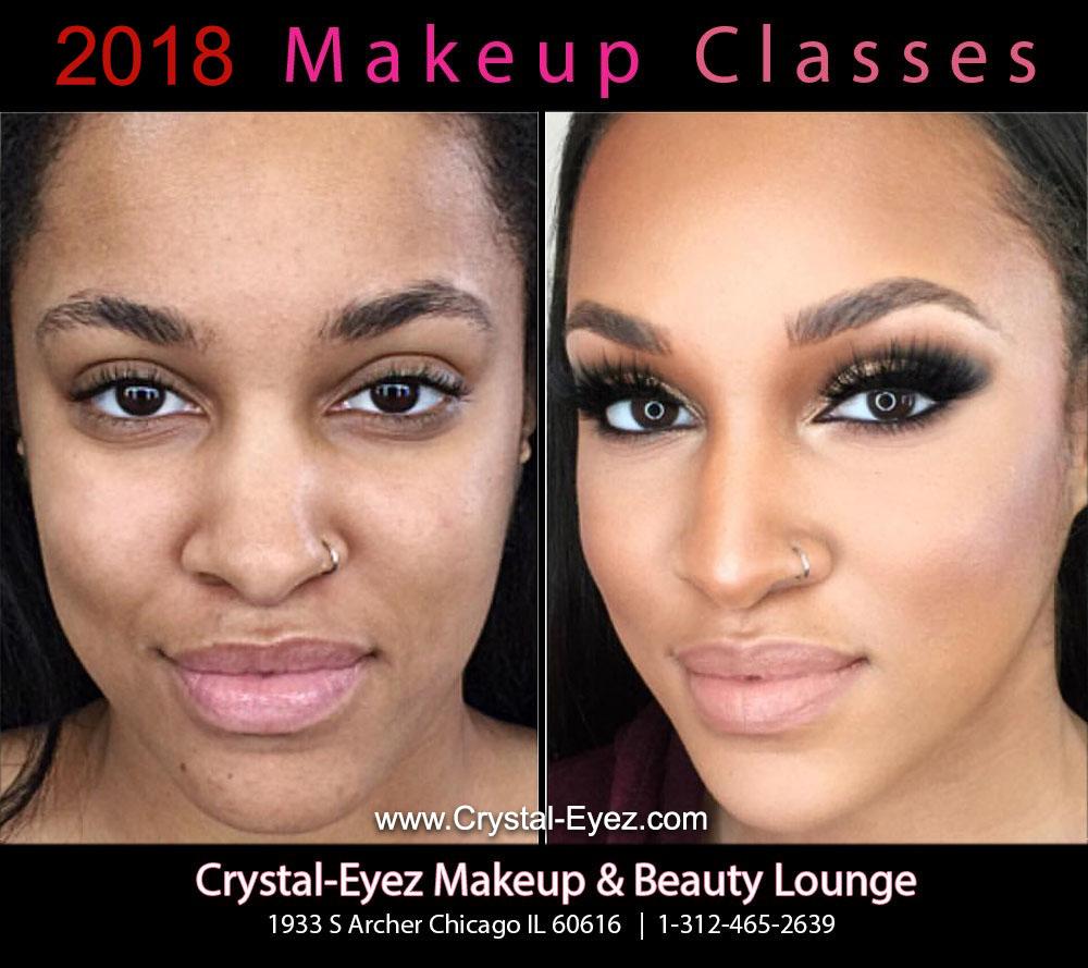 Crystal-Eyez Chicago Makeup Class