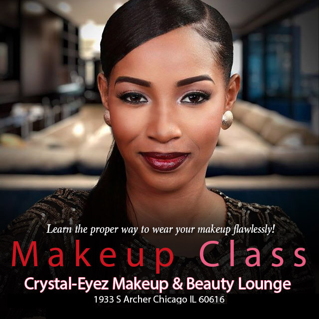Crystal-Eyez Makeup Class