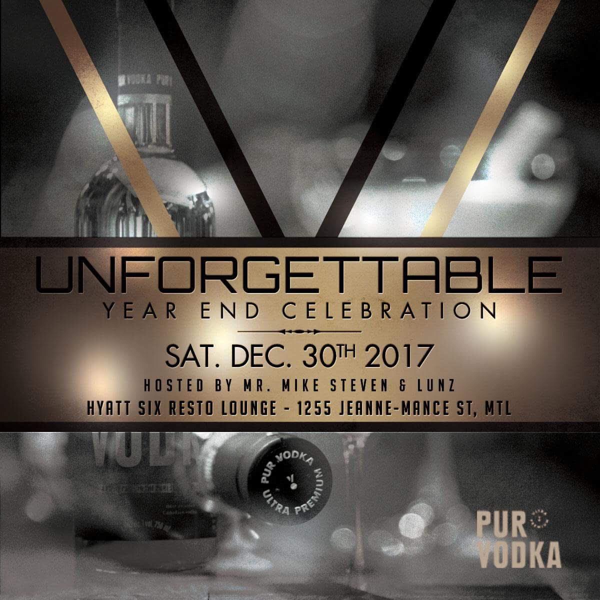 Unforgettable at Hyatt Six Resto Lounge Pur Vodka
