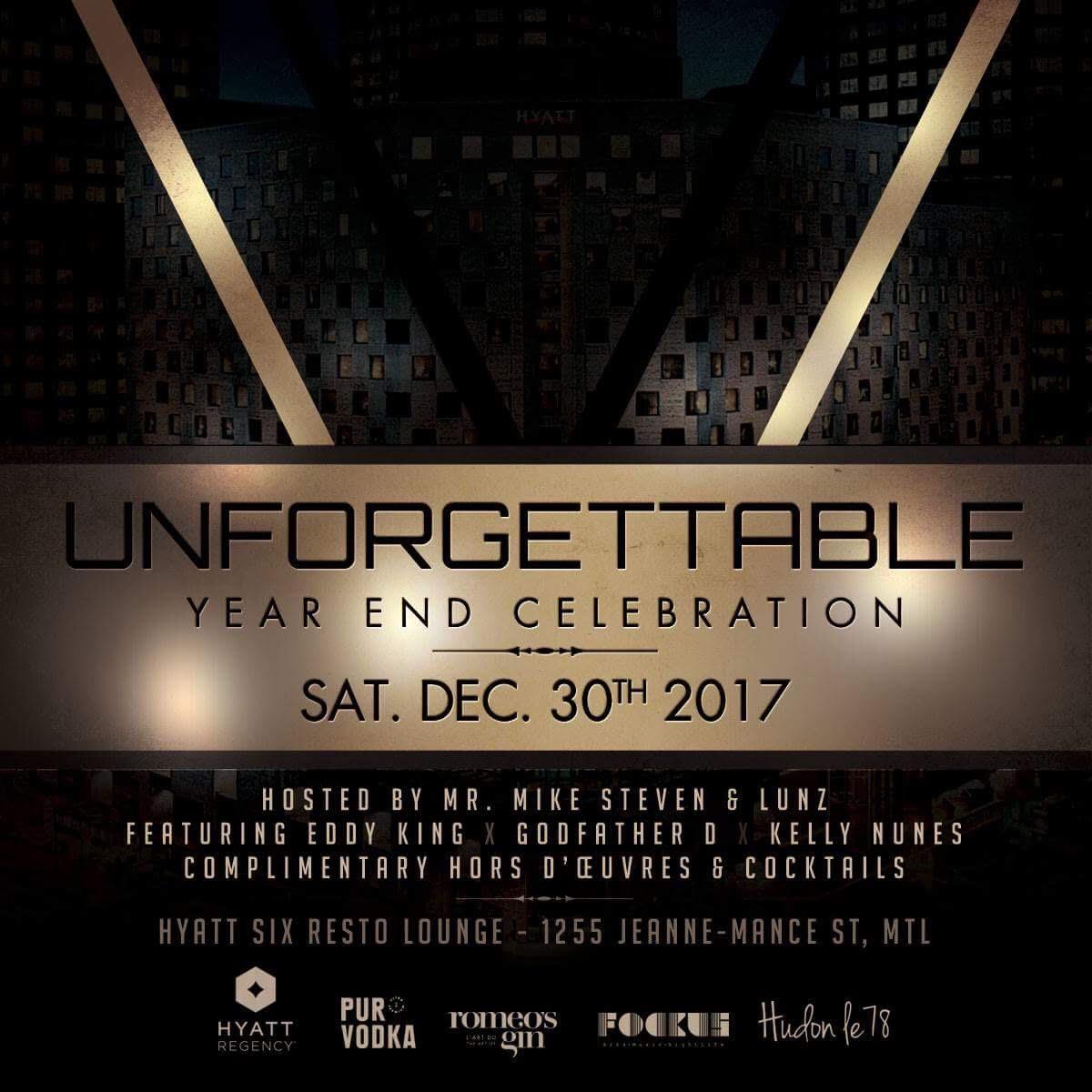 Unforgettable at Hyatt Six Resto Lounge