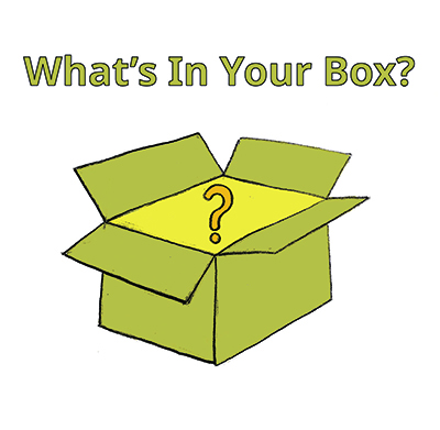 What's In Your Box? logo