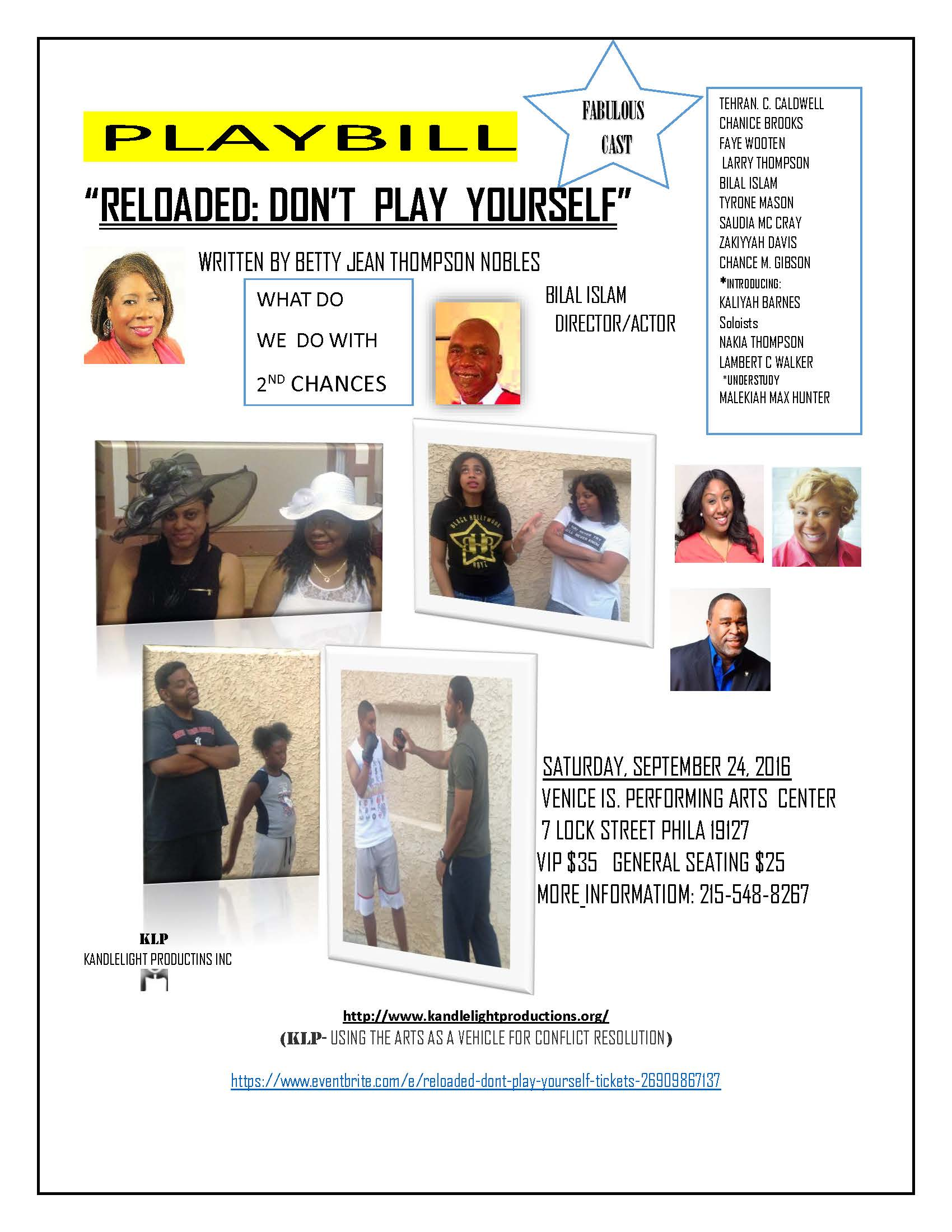 RELOADED: DON'T PLAY YOURSELF