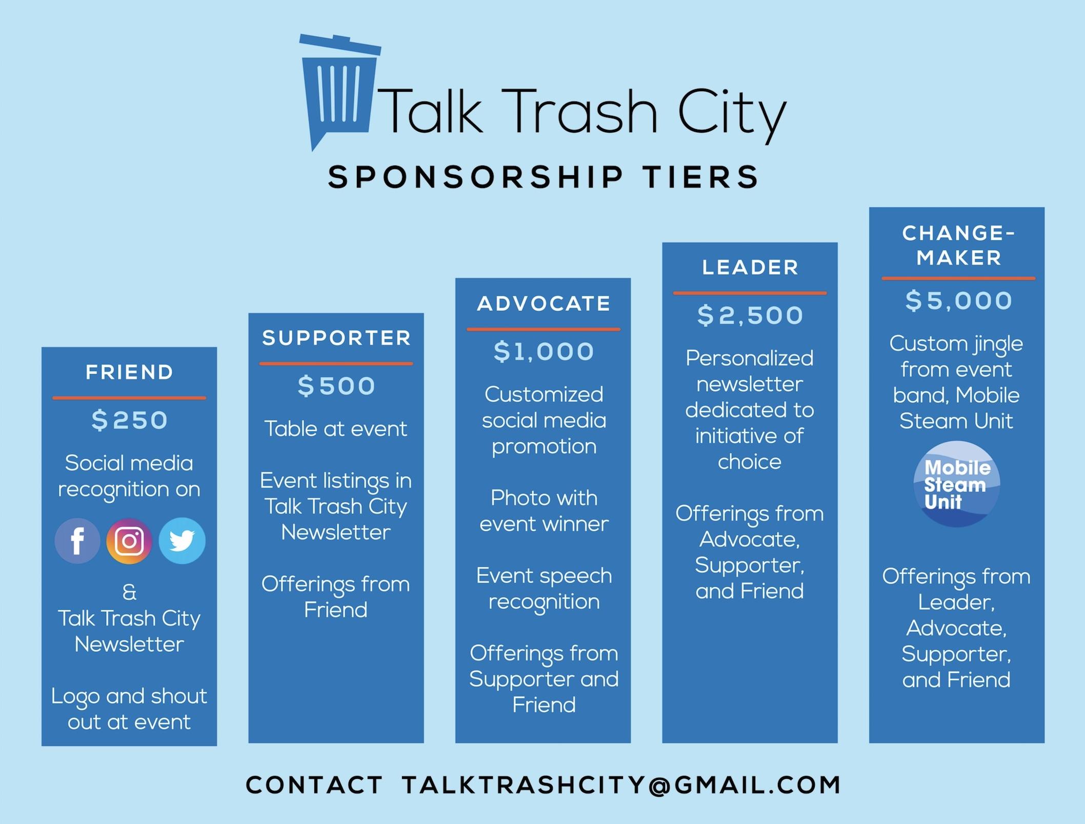 TTC Event #4 Sponsorship