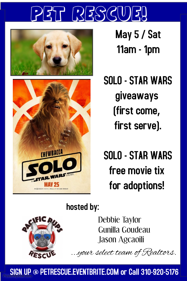 Pet Rescue - Palos Verdes Estates - May 5