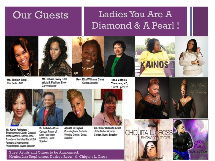 Guests for Diamonds Pearls