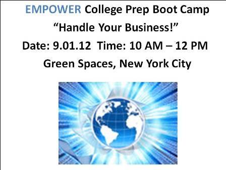EMPOWER College Prep Boot Camp picture