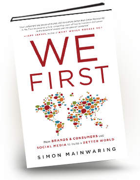 WeFirst book by Simon Mainwaring